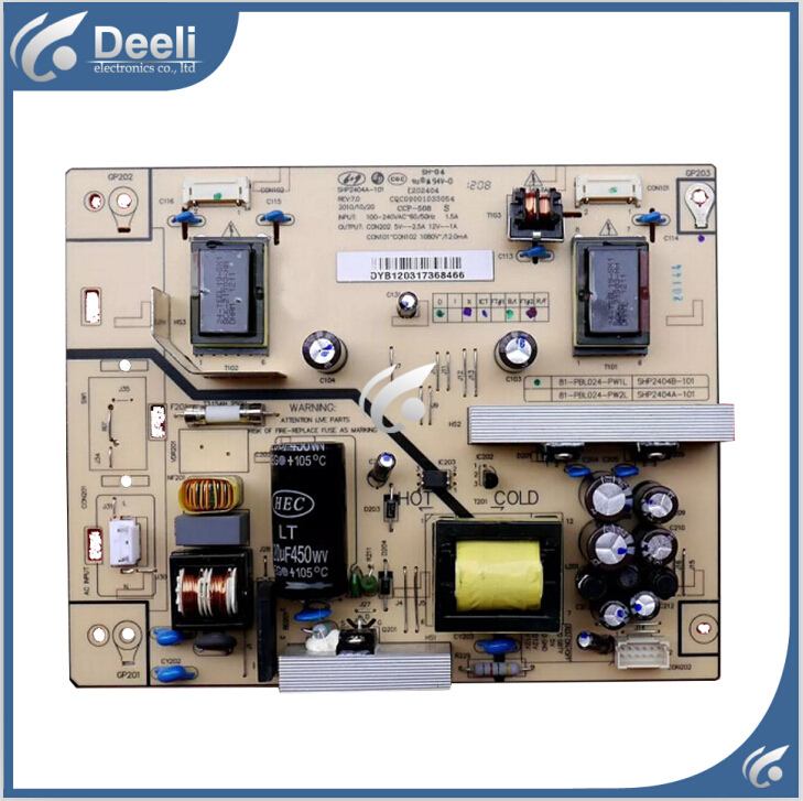 100% new original for power board LCD24R19 SHP2404A/SHP2404B-101 81-PBL024-PW1 Working good on sale jsi 420601 0094001902h original lcd power board