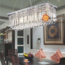 Первый — кристалл K9 подвесные светильники для украшения, Приятные глазу современный кристалл подвесные светильники для гостиная / столовая