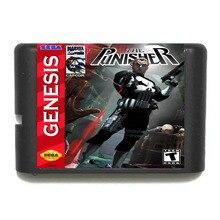 The Punisher 16 bit SEGA MD Game Card For Sega Mega Drive For Genesis