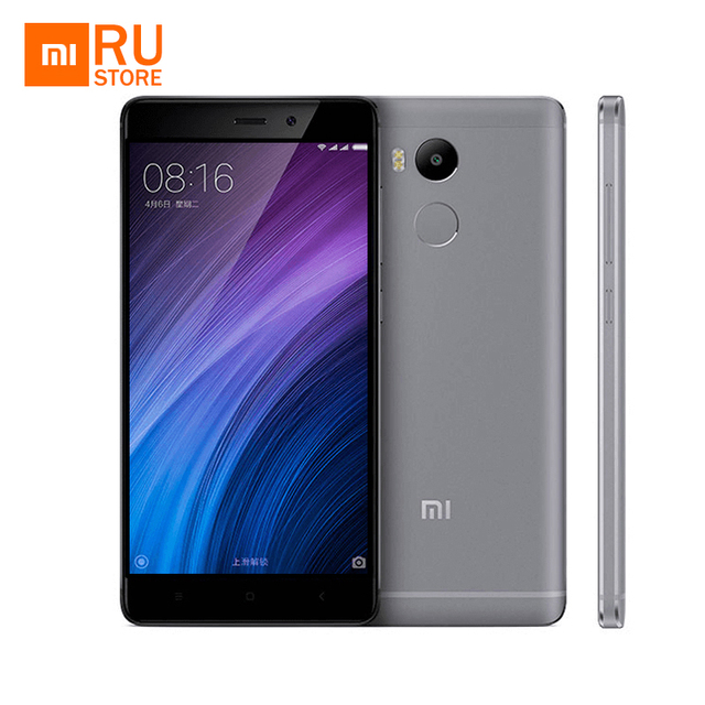 Отправка из RU Xiaomi Redmi 4 Pro Prime оригинальный мобильный телефон на восьмиядерном процессоре Snapdragon 625, 3 ГБ ОЗУ, 32 ГБ ПЗУ, 5.0' FullHD экран, 4100 мАч аккумулятор,13МП камера