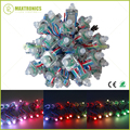 50 pcs 12mm T1515 RGB Full Color WS2801 Difuso Digital LED Pixel Módulo String Individualmente Endereçável DC5V IP68 À Prova D' Água
