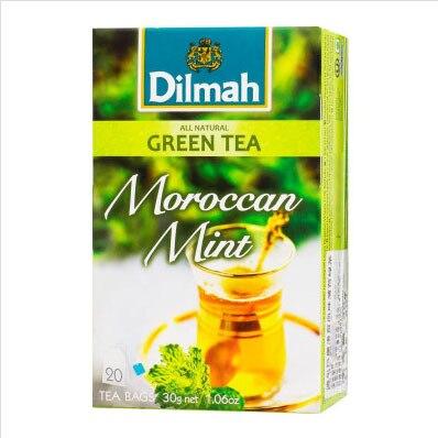 Free shipping mint green 201.5g Sri Lanka imported gifts chinese tea green tea