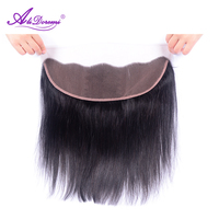 Brazilian Straight Hair Frontal Closure Lace Frontal Closure 13x4 With Free Shipping Straight Lace Frontal