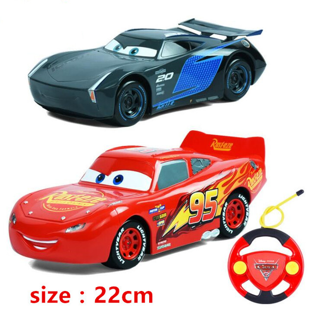 Disney Pixar Cars Toys Big Size 22cm Lighting Mcqueen Mater Jackson
