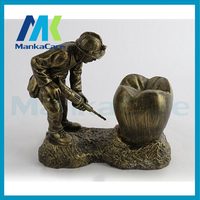 TEETH DRILLER Sculpture Handmade Resin Figure Statue Decoration Artwork Gift and Craft Ornament Embellishment Free shipping