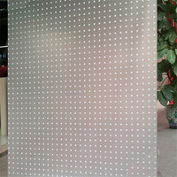 60 100 Cm Anti UV Frosted Glass Window Film Thick Mosaic Pattern Films Static Cling Self