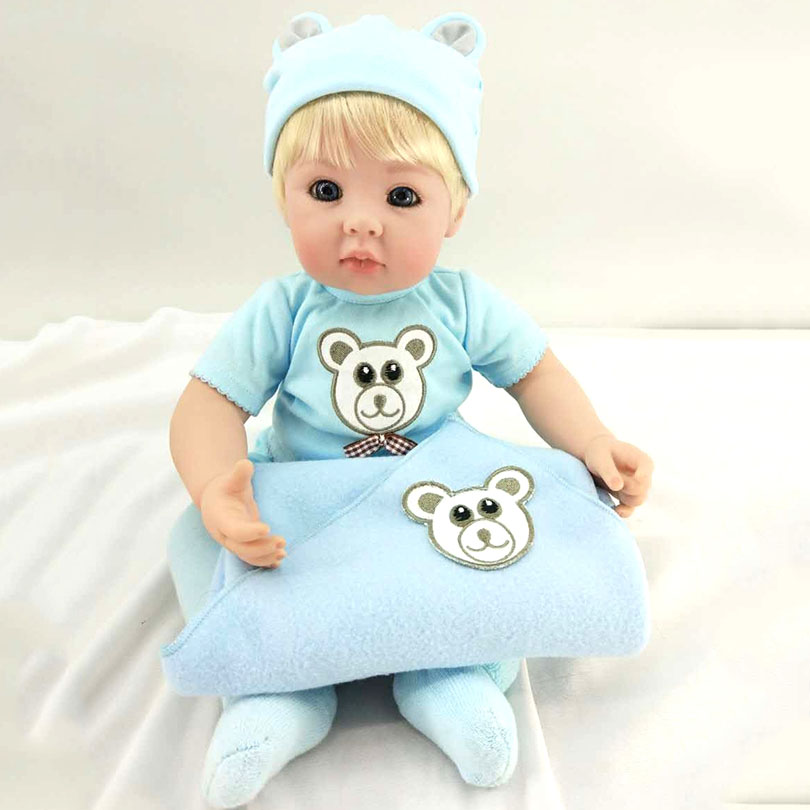 Baby Playmate Toys New Design Silicone Cotton For Safe Alive Real Touch High-End Holiday Gifts 50cm Height Unisex Lovely BonecaBaby Playmate Toys New Design Silicone Cotton For Safe Alive Real Touch High-End Holiday Gifts 50cm Height Unisex Lovely Boneca