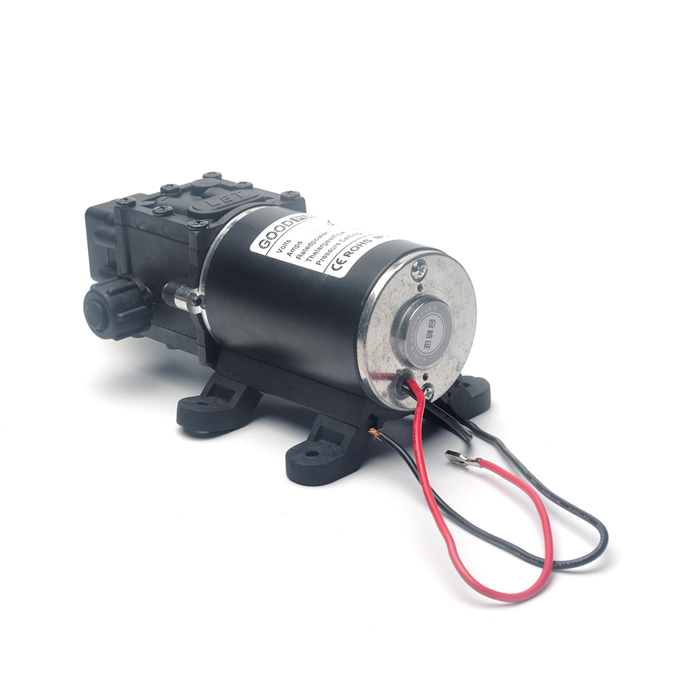 Pumpen Selbstansaugende Dc 12 V 100 W 8l/min Landwirtschaftliche Elektrische Wasserpumpe Schwarz Micro Hochdruck Membran Wasser Sprayer Auto Waschen 12 V QualitäT Und QuantitäT Gesichert