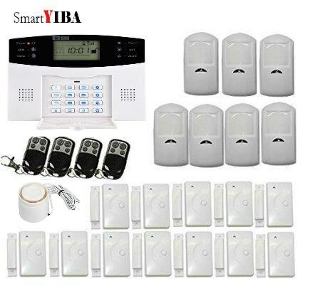 SmartYIBA système d'alarme domestique sans fil GSM SMS russe/anglais/espagnol/italien/tchèque/portugais voix en option