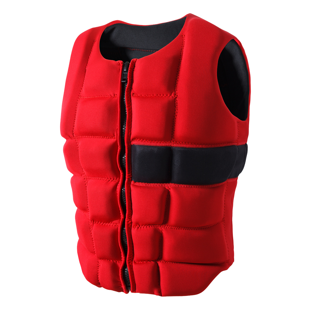 adult life vest neoprene floating vest swim life jacket surfing vests float swimsuit life jaket swim buoy waterski life jackets