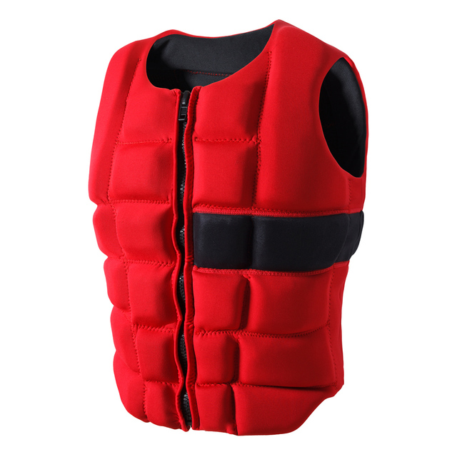 adult life vest neoprene floating vest swim life jacket surfing vests float  swimsuit life jaket swim buoy waterski life jackets a16d398b0