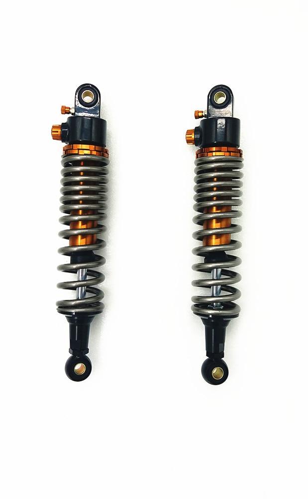 340mm 350mm 360mm 370mm 380mm 400mm 8mm Spring Motorcycle Shock Absorbers for Honda Yamaha Suzuki Kawasaki