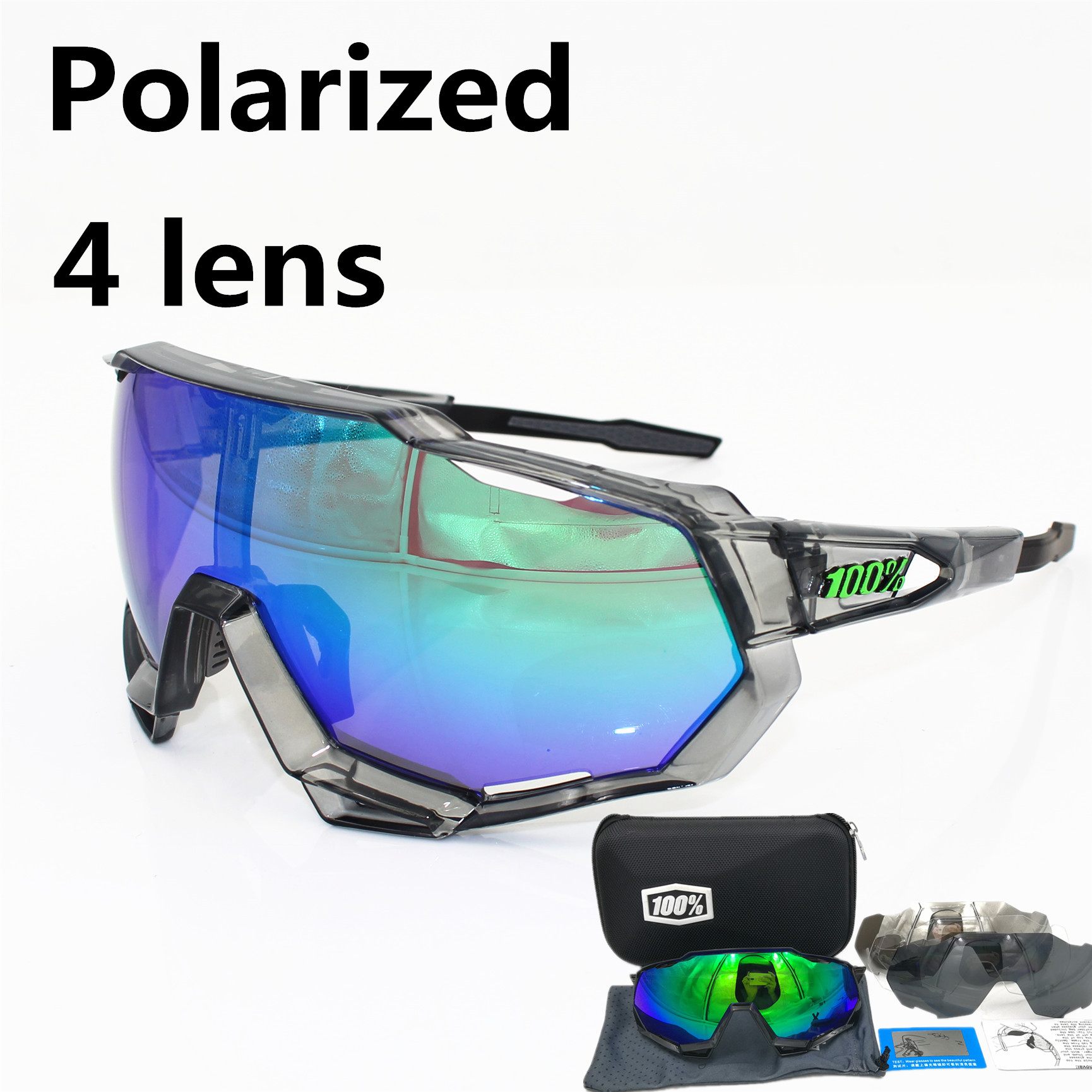 цена на 100% speedtrap speedcraft Polarized Cycling SunGlasses Mountain Bike Goggles Sport Eyewear MTB Bicycle Glasses Cycling Glasses