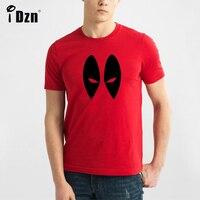 Summer Casual Hommes T-shirt Deadpool Yeux Top Gun le Flash Super hero spiderman iron man thor hulk à manches courtes unisexe t-shirts tops