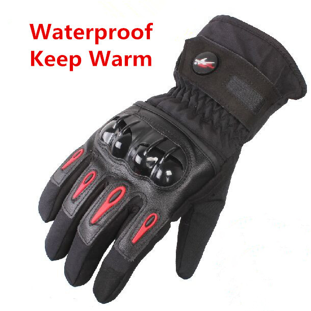 2015 Winter Brand Waterproof Warm luva moto guantes Motorcycle Gloves Motocross Racing gloves Motorbike Protective Gloves