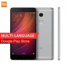 Оригинал Xiaomi Redmi Note 4 Pro Простые MIUI8 Helio X20 Дека Core 3 ГБ RAM смартфон MTK 64 ГБ ROM 5.5 «FHD 1080 P Отпечатков Пальцев ID