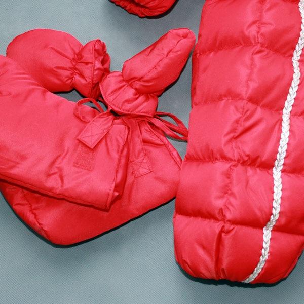 26d16c9b0 Rusia Bebé Ropa 0 2 años Niño niña invierno mono animales de piel en Parkas  y Plumas de Mamá y bebé en AliExpress.com