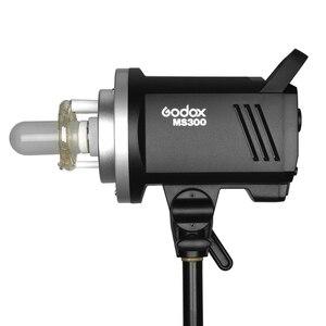 Image 2 - Godox MS200 200W veya MS300 300W 2.4G dahili kablosuz alıcı hafif kompakt ve dayanıklı Bowens dağı stüdyo flash