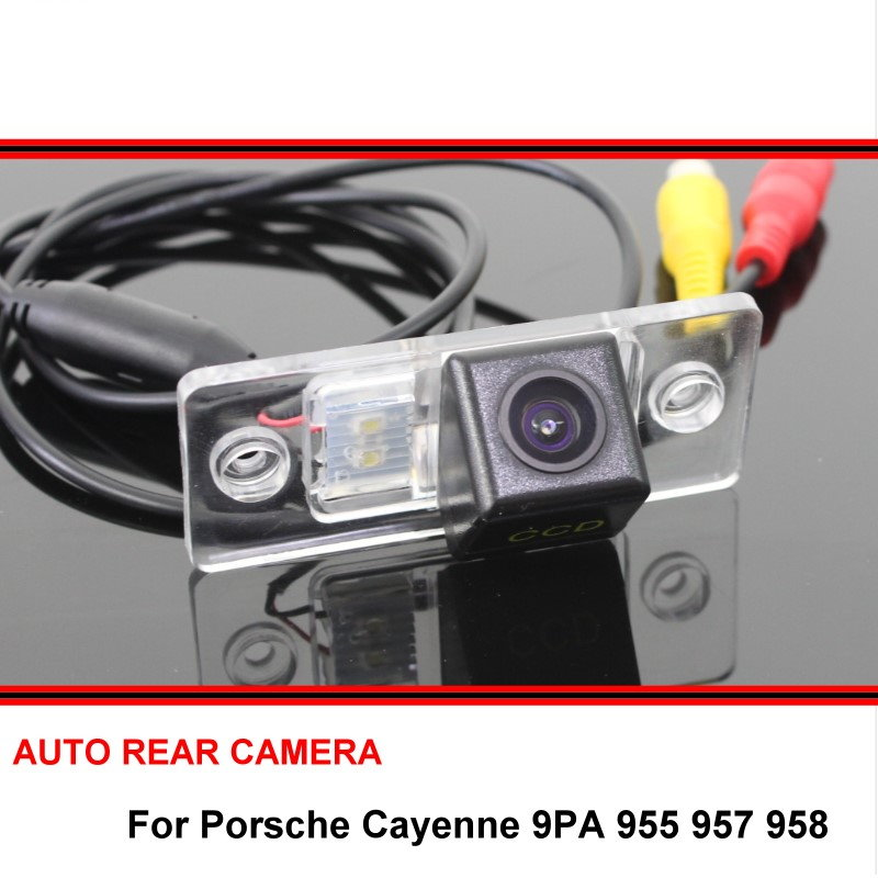 For Porsche Cayenne 9PA 955 957 958 2002~2010 Reverse Backup HD CCD Car Rearview Parking Rear View Camera Night Vision