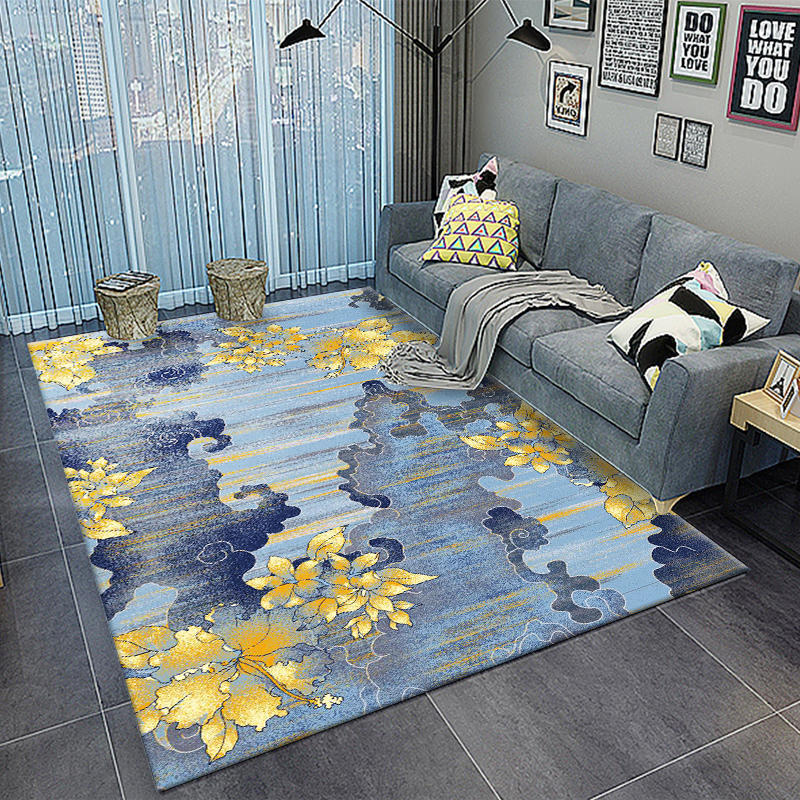 Mat For Home Parlor Bedroom Living Room 9 Dimensions: Nordic Abstract Ink Printing Door Mat Large Carpet Big