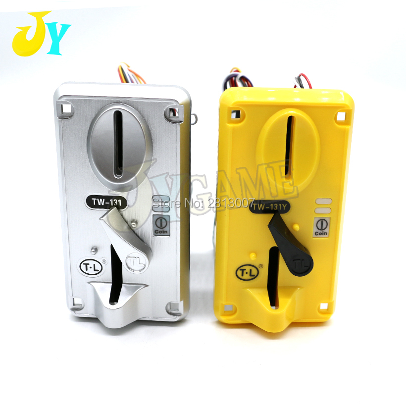 TW131 Coin Selector CPU Arcade Coin acceptor Token Coin Mechanism For Toy Crane Machine Coin operated game machine