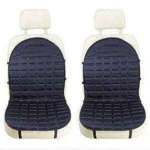 Image 5 - 12 12v温水カーシートクッションカバーシート、ヒーターウォーマー、冬の家庭用クッションcardriver加熱されたシートクッション