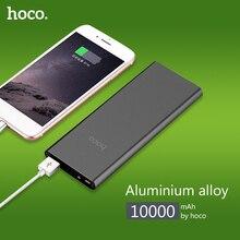 НОСО B16 10000 мАч питание Запасные Аккумуляторы для телефонов 2.1A USB батареи внешнего питания Мощность банк портативный аккумулятор быстро Зарядное устройство светодиодный индикатор