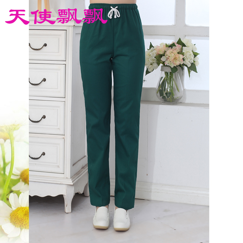 53aa29c5291 women Medical Uniforms Hospital Nurse Pants Female Doctors Nursing Workwear  Nurse Medical Pants Elastic Waist Trousers-in Scrub Tops & Bottoms from  Novelty ...