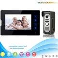 DHL Доставка V70T2-M2 1V1 Производитель 7 Inch Сенсорный Ключи Видео-Телефон Двери для Квартиры Домашней Безопасности с Домофоном