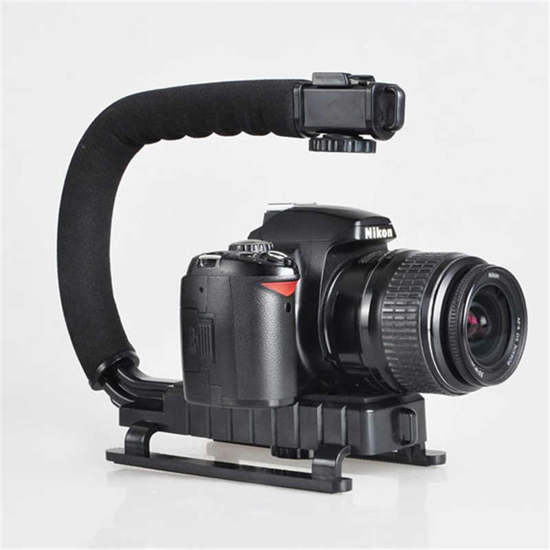 DV ręczny stabilizator kamery w kształcie litery C ręczny stabilizator niskich ramek