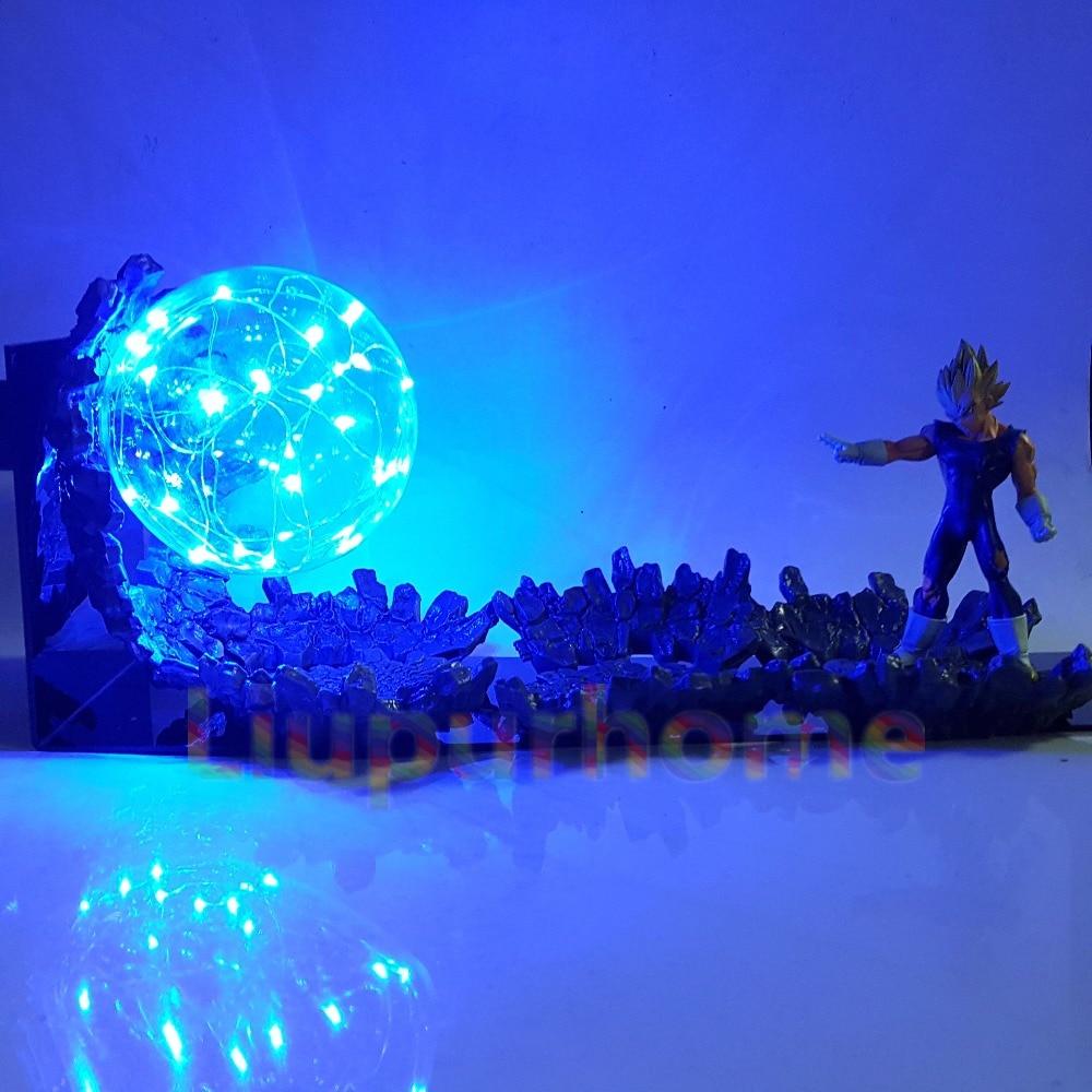Dragon Ball Led lampe de bureau végéta Super Saiyan Power Up Led éclairage Anime Dragon Ball Super mal végéta veilleuses pour noël