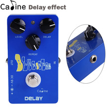 New Caline Guitar Delay Effects Pedal 25ms to 600ms Delay time True Bypass Guitar Parts & Accessories