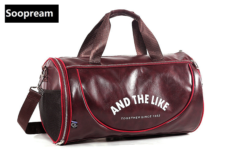 Large Capacity Brand PU Leather travel duffel bag Men Travel Business Tote Laptop Luggage Handbag Fashion Crossbody voyage Bolso high quality authentic famous polo golf double clothing bag men travel golf shoes bag custom handbag large capacity45 26 34 cm