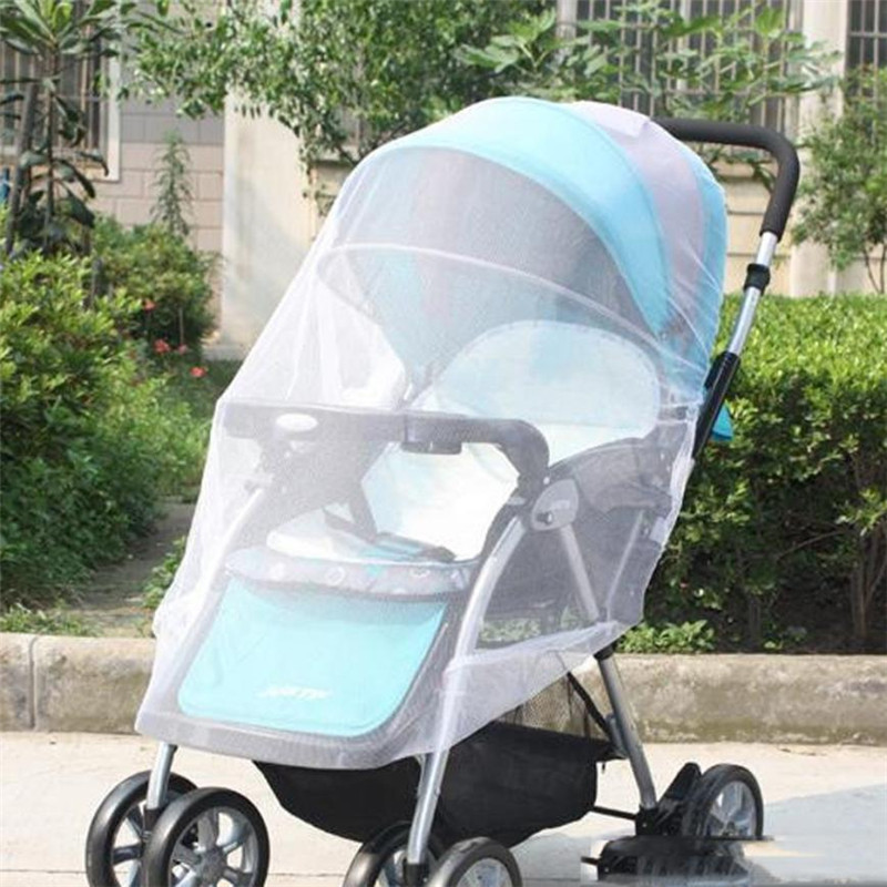 1pc Baby Stroller Mosquito Net Full Insect Cover Carriage
