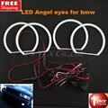 SMD LED Глаза Ангела Для BMW Angel Eye Halo Хлопок Свет Ошибка бесплатный СВЕТОДИОДНЫХ SMD E36 E38 E46 E49 Проектор Белый желтый Светодиод Ангел глаза