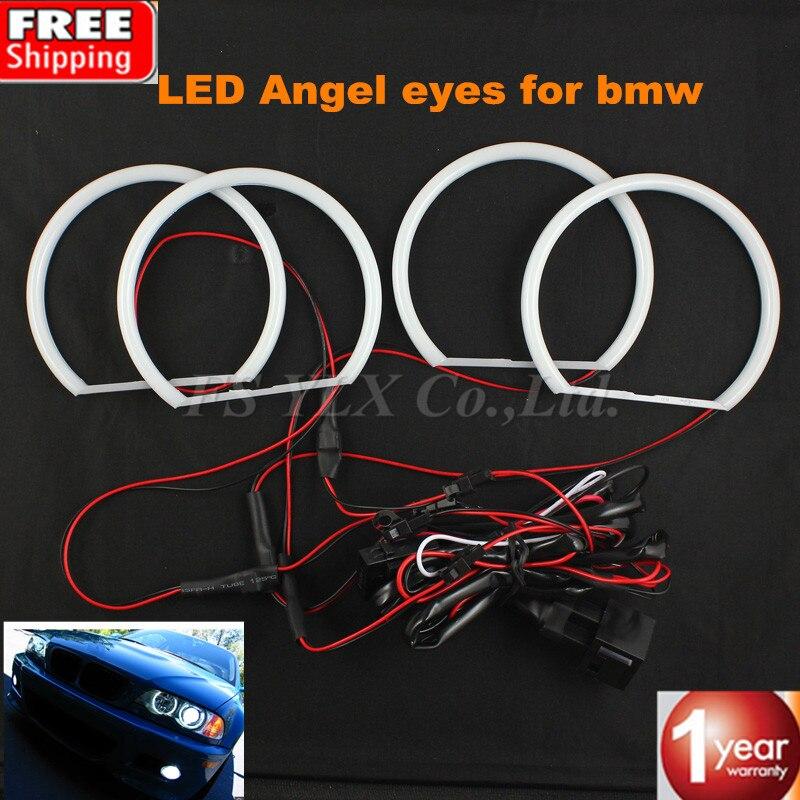 SMD LED Angel Eyes For BMW Angel Eye Halo Cotton font b Light b font Error