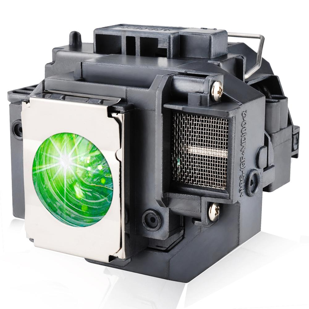 Replacement Projector Lamp ELPLP54 For EB-S7/EB-S7+/EB-S72/EB-S8/EB-S82/EB-W7/EB-W8/EB-X7 Projector Lamp With Housing