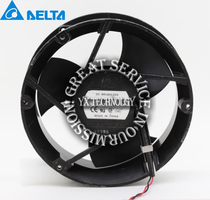 New Genuine EFB1712HG 17050 17CM 12V 2.20A winds of double ball bearing cooling fan for Delta 170*170*50mm new original afb1212vhe foo 12038 0 9a winds of double ball bearing fan for delta 120 120 38mm