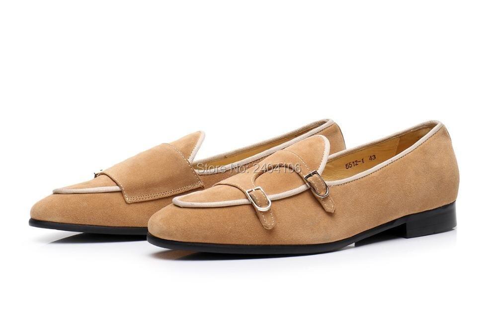 Negócios Casuais Fivela Luz Dos Em Cinta Calcanhar Condução Homens Pic De Britânico Camurça Curta Sapatos Estilo Formadores As Plana Loafer Deslizamento WY1nAwqIq