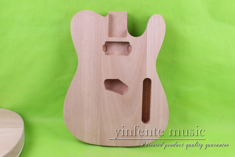Unfinished electric guitar body mahogany made maple new big john double wave 7 strings electric guitar sticking tiger stripes maple mahogany body without hardware f 2139