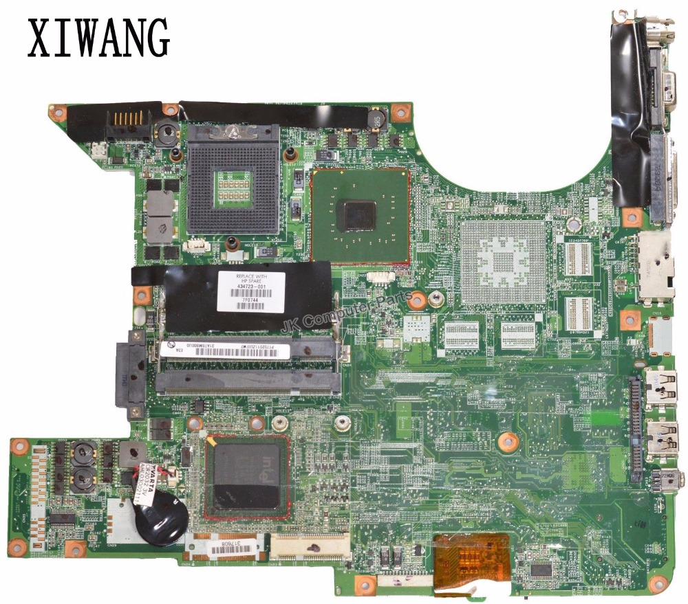 Free Shipping 434723-001 434725-001 for HP Pavilion DV6000 DV6500 DV6700 DV6800 laptop motherboard 945GM DDR2 100% Tested for hp pavilion tx1240ef notebook 441097 001 laptop motherboard for amd ddr2 100% fully tested working