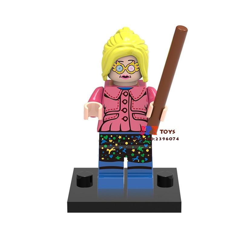 50pcs starwars superhero Harry Potter Luna building blocks bricks friends for girl kids children toys brinquedos menina