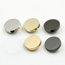 Free shipping 5pcs/lot Planar high-grade buttons Men and women shirt dress metal Monopoly coat gold