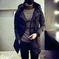 2016 otoño y el invierno de la nueva venta caliente de algodón largo párrafo para hombre con capucha de algodón de gran tamaño M-5XL Slim juventud Mianao de tendencia de los hombres