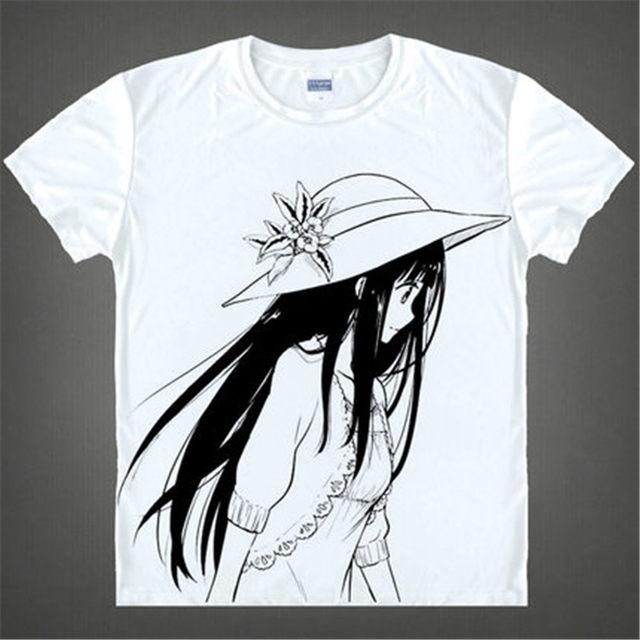 32c4375fb Online Shop Anime Hyouka T-Shirt Oreki Houtarou Chitanda Eru T ...
