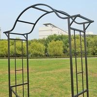 Garden supplies rose garden arch plant climbing pergola wire lotus frame iron arch.