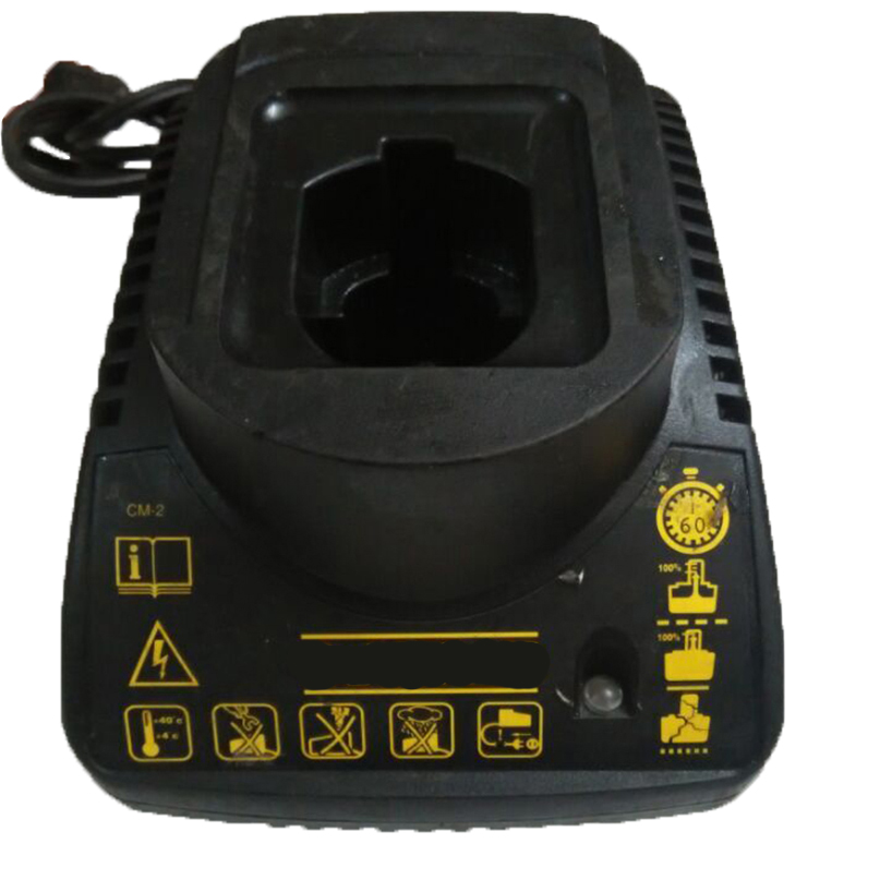 Original Used Tool Accessory Power Tools NI-CD NI-MH Battery Charger For DeWalt 7.2V - 14.4V Serise NI-CD NI-MH Battery for bosch 24v 3000mah power tool battery ni cd 52324b baccs24v gbh 24v gbh24vf gcm24v gkg24v gks24v gli24v gmc24v gsa24v gsa24ve