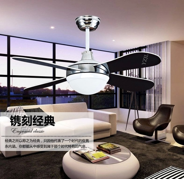 Aliexpresscom Buy LED Light Fan Ceiling Fan Living Room Bedroom - Ceiling fans with lights for living room