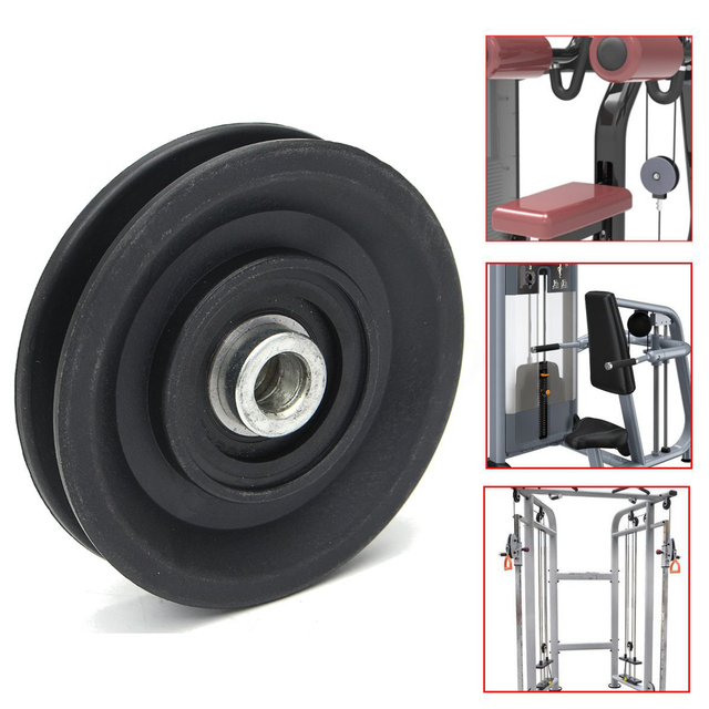 High Quality Bearing Pulley  Wheel Cable Gym Universal Fitness
