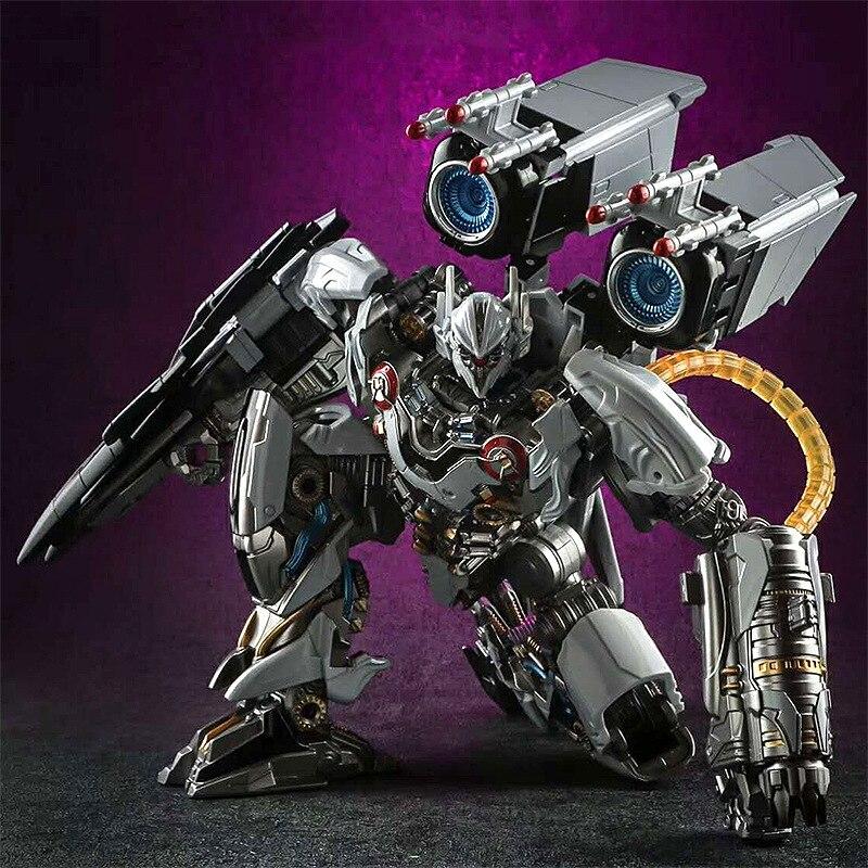 25 cm transformacja LS 01 deformacji zabawki Nitro Zeus duch wojownik ze stopu model samolotu metalowa część ls01 figurka zabawki robota w Figurki i postaci od Zabawki i hobby na  Grupa 1